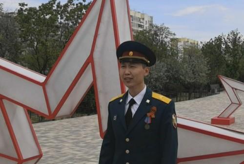 Калмыцкие росгвардейцы присоединились к Международной культурно-патриотической акции «День Победы на всех языках»