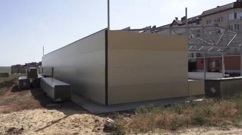 В Элисте снесут незаконно построенный объект в границах мемориального комплекса «Исход и Возвращение»