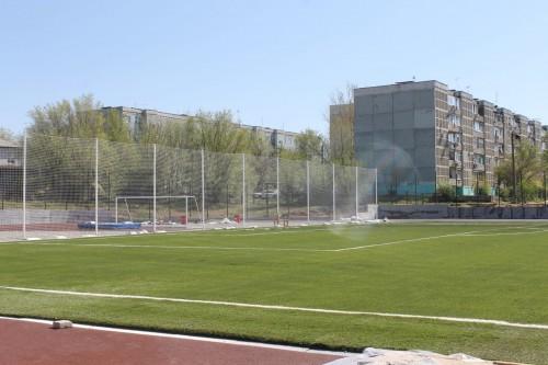В Элисте завершается строительство многофункционального спортивно-оздоровительного комплекса