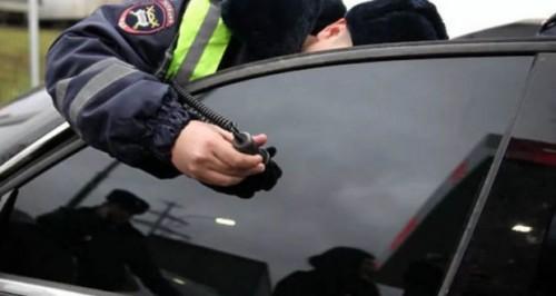 В Элисте 19 водителей попались на «тонировке»