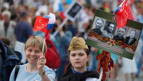 Канал «Россия-1» приглашает принять участие в акции «Бессмертный полк» в «Прямом эфире»