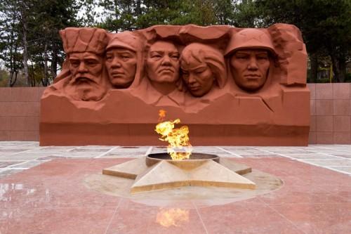 """На Мемориале """"Вечный огонь"""" состоялась акция памяти"""