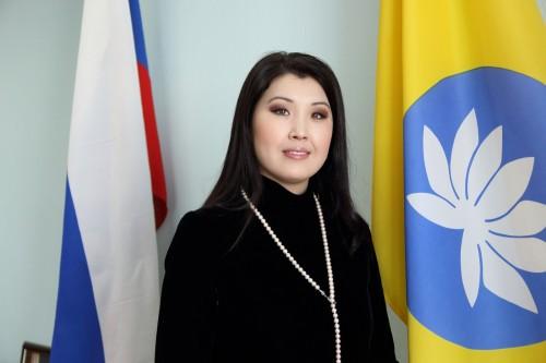 На своем избирательном участке проголосовала депутат Государственной Думы Марина Мукабенова