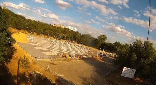 Завершается первый этап реконструкции площади Победы