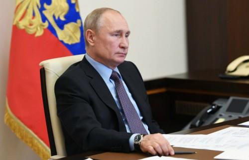 Президент Владимир Путин выступил с обращением к жителям страны
