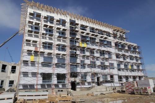 Строительство новой городской детской поликлиники подходит к завершающему этапу