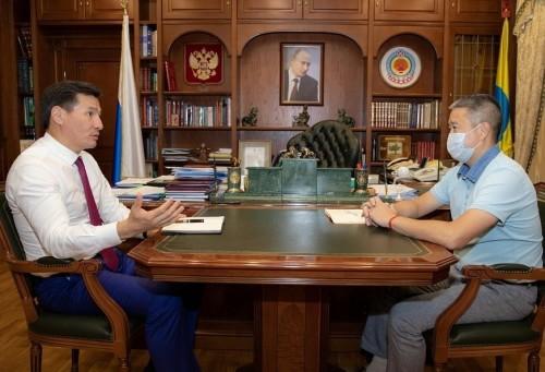 Калмыцкое отделение «Сбербанка»  возглавил новый руководитель