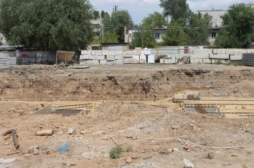 Строительство дома для пострадавших жильцов идет с опережением сроков
