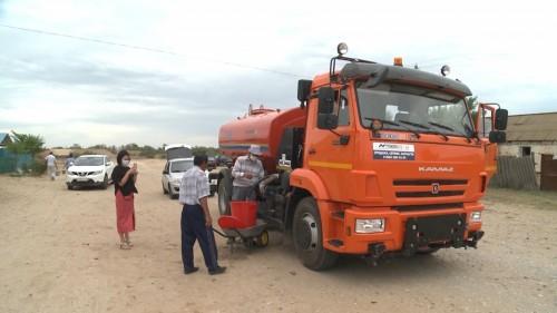 В Лаганском районе решается проблема с питьевой водой