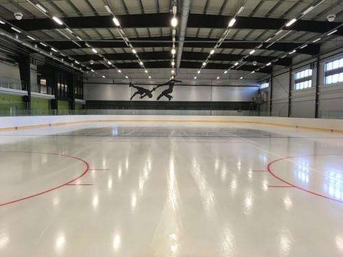 Строительство ледового центра идет по графику