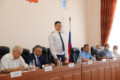 Назначен новый руководитель Следственного Управления Следственного комитета России по Калмыкии