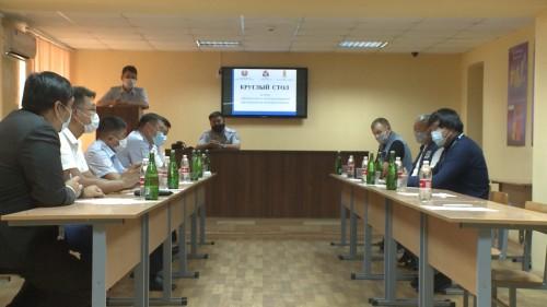 Сотрудники ГИБДД провели встречу с представителями калмыцких мотоклубов