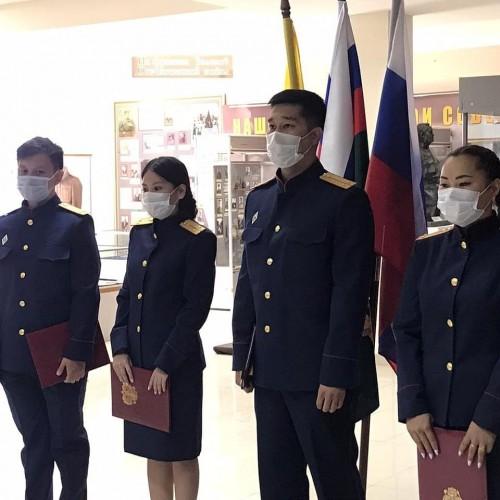 Сотрудники Следственного комитета приняли присягу на верность профессии
