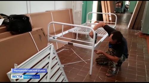 В Калмыкию поступила первая партия медицинских кроватей