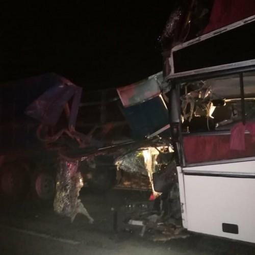 3 человека погибло в результате ДТП с участием  пассажирского автобуса