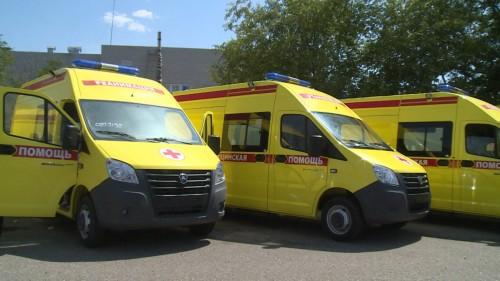 Автопарк районных больниц Калмыкии пополнился новым транспортом
