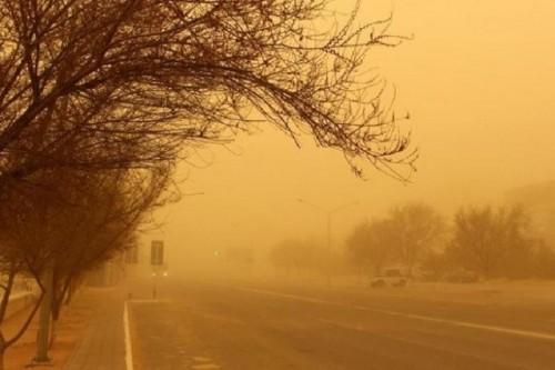 В  степном регионе бушуют пыльные бури
