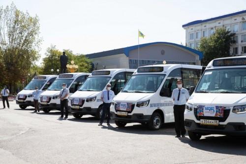 Элистинский городской автопарк пополнился еще десятью пассажирскими микроавтобусами