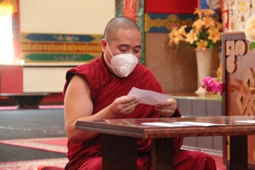 Калмыцкие студенты монастыря «Дрепунг Гоманг» завершили сдачу ежегодных экзаменов