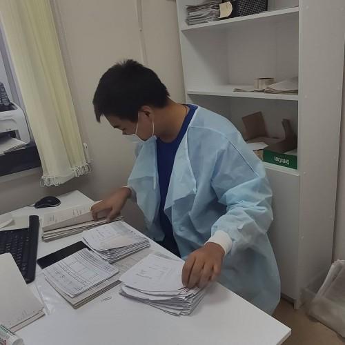 Врачам Городской поликлиники помогают волонтеры «Молодежки ОНФ»