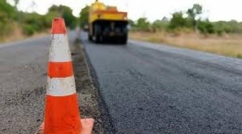 В Элисте завершается ремонт дорожного полотна