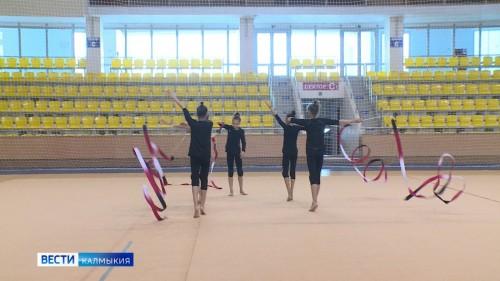 Сборная Калмыкии сегодня проведет первую тренировку на ковре Дворца гимнастики Ирины Винер-Усмановой
