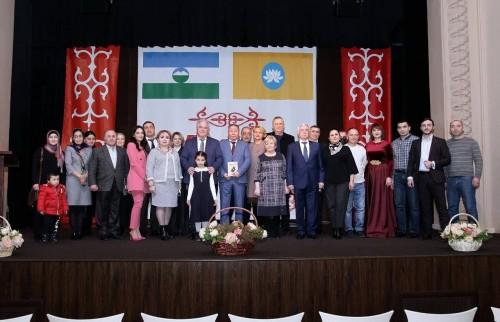 Народному поэту КБР и КЧР Салиху Гуртуеву присвоено звание «Народный поэт Республики Калмыкия»