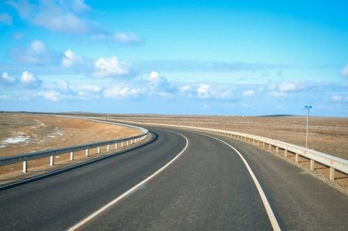 На территории  Калмыкии открывается движение по участку трассы Р -215