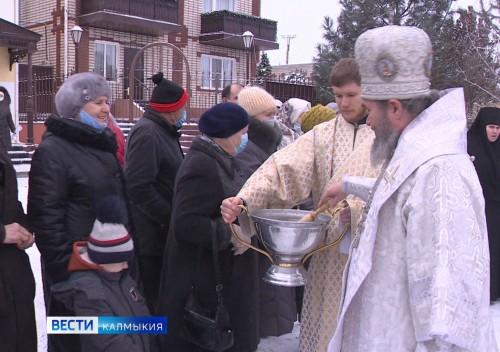 В Крещенский сочельник прошли традиционные обряды
