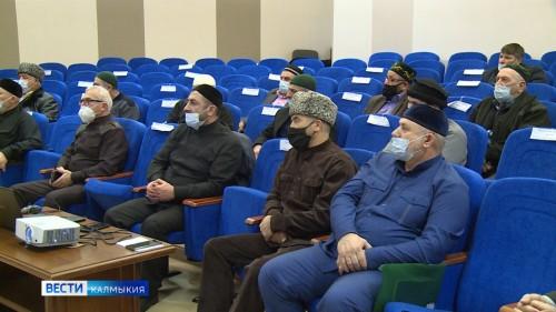 Представители исламского духовенства со всех уголков республики собрались сегодня на курсах повышения квалификации
