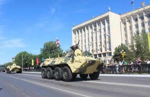 В День Победы в Элисте состоится парад военной и специализированной техники