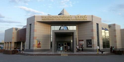 В Национальном музее Калмыкии открылась выставка работ Владимира Ошланова