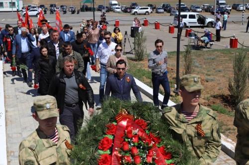 Глава Калмыкии Бату Хасиков: «Наш долг хранить и чтить память о великом подвиге воинов-освободителей, воинов-победителей 28-й армии»