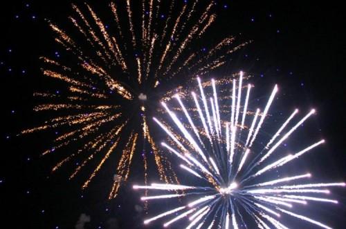 Ежегодное празднование Дня Победы традиционно завершилось торжественным салютом