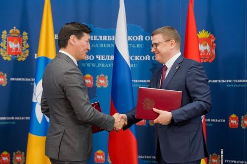 Калмыкия и Челябинская область заключили соглашения о сотрудничестве
