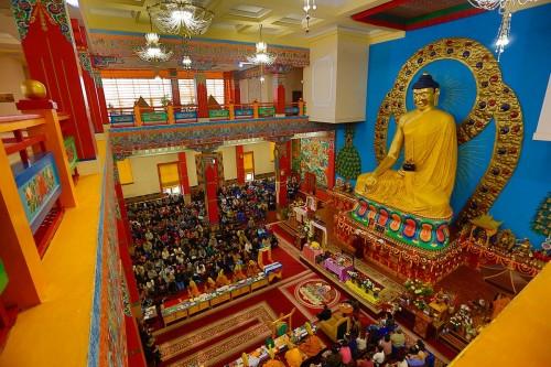 Сегодня буддисты Калмыкии празднуют День рождения, Просветления и уход в Паринирваны Будды Шакьямуни