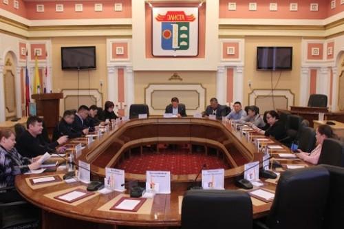Сегодня состоится XXII заседание Элистинского городского собрания