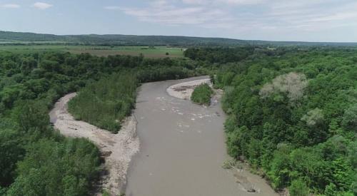 Обнаружено тело третьего туриста, унесённого течением реки Белой в Адыгее
