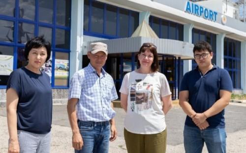 Делегация медработников степного региона вылетела в Бурятию