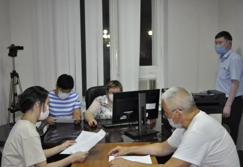 В Избиркоме Калмыкии завершился прием документов от самовыдвиженцев