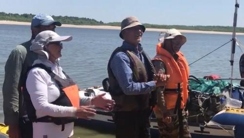 Сегодня в Калмыкию прибыли участники масштабной водной экспедиции «Россия с Севера на Юг»