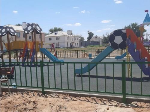 Совсем скоро дети из посёлка Комсомольский получат новую игровую площадку