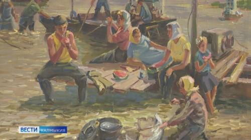 В Национальном музее открылась выставка Николая Рудикова «Край славных рыбаков»
