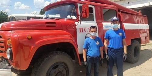 Новый пожарно-спасательный пост на территории республики
