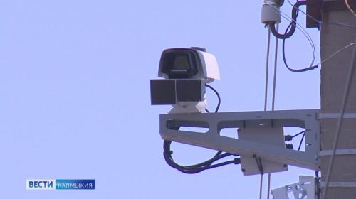Камеры видеонаблюдения установлены на дорогах столицы