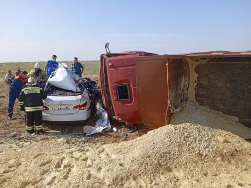 В результате ДТП в Элисте погибло 5 человек