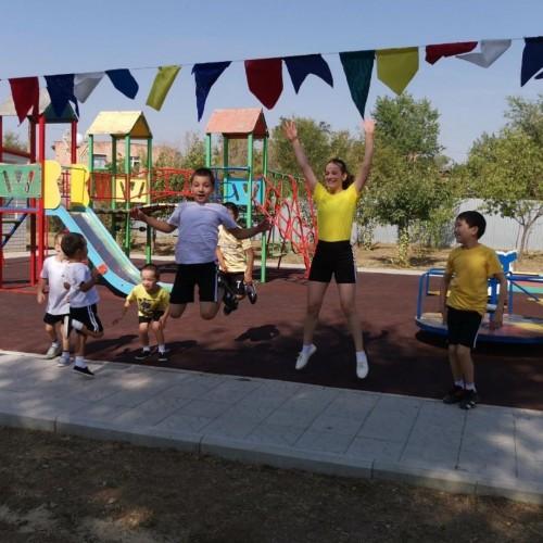 В социальном приюте для детей и подростков состоялся спортивный праздник «Весёлые старты»