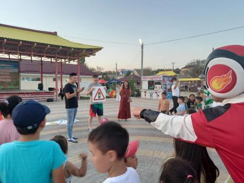 В степной столице отметили Международный день светофора