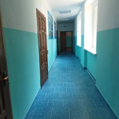 В Целинной средней школе имени Эрендженова в посёлке Аршан-Булг завершили капремонт спортивного зала