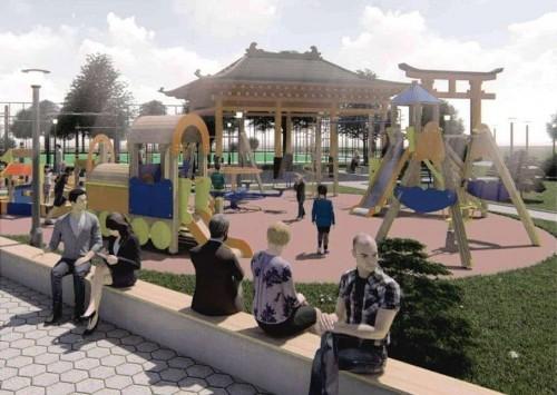 Проект благоустройства парка в Лагани - в числе 160 победителей конкурса на грант федерального Минстроя